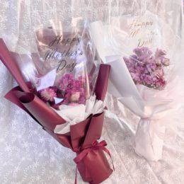 お母様へ普段よりワンランク上の花束を【熊本花屋・フラワーバルーンKIKI】