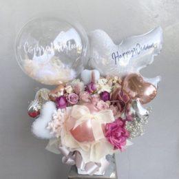 あらゆるお祝い事に人気のバードバルーンにニュータイプが登場♪【熊本花屋・フラワーバルーンKIKI】