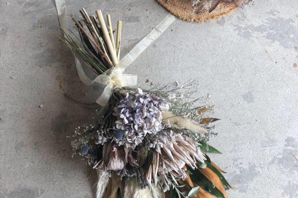 記念日やお誕生日に。ドライフラワーの花束【熊本の花屋・ドライフラワー取扱店KIKI】
