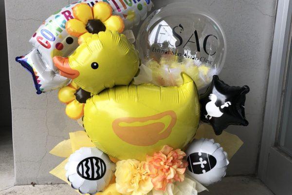 お誕生日や開店祝い等に!バルーンアレンジ【熊本の花屋・バルーンショップKIKI】
