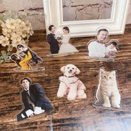 好きな写真をアクリル板に♡ドライフラワーがセットになったニューアイテム☆【熊本花屋・フラワーバルーンKIKI】
